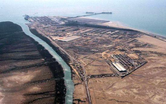 Mundra Port SEZ's aerial view.