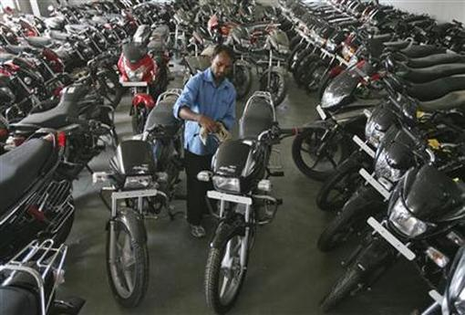 As much as 30 per cent of the demand in the overall two-wheeler market comes from South India.
