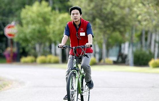 Baidu co-founder Robin Li.