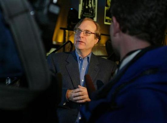 Microsoft co-founder Paul Allen.