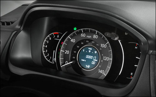 Details like a sporty instrument panel are just another way the CR-V shows its personality.