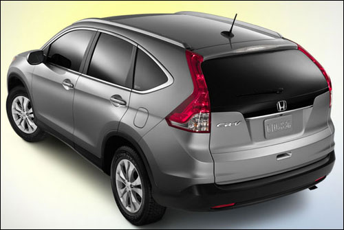 With its beautifully balanced design, the 2013 CR-V looks great from every angle.
