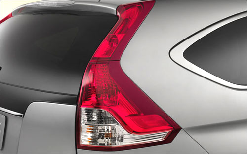 Bold brake lights help keep you safe and the CR-V stylish.