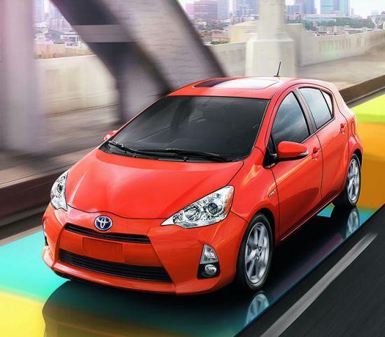Toyota Prius c.