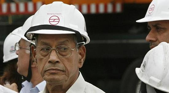 Former chief of Delhi Metro Rail Corporation Elattuvalapil Sreedharan.