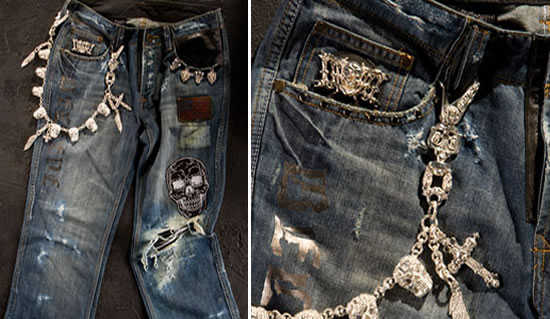 Dussault Apparel Thrashed Denim.