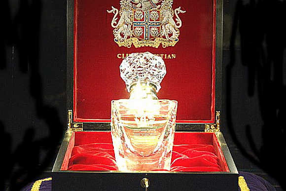 Clive Christian No. 1 Imperial Majesty Perfume.