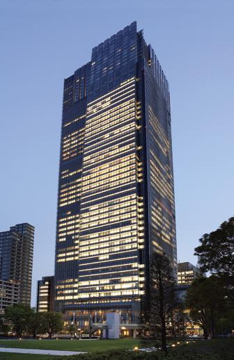 Ritz-Carlton in Tokyo, Japan.