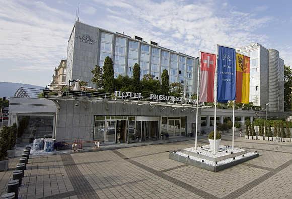 President Wilson Hotel in Geneva, Switzerland.