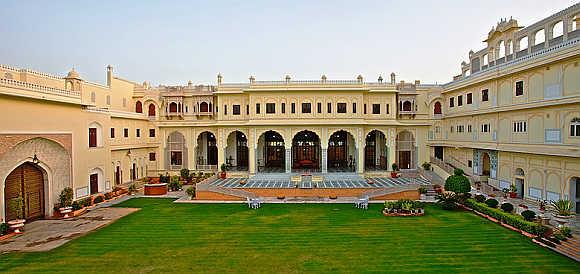 Raj Palace Hotel Jaipur.