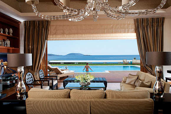 Royal Villa at Grand Resort Lagonissi in Athens, Greece.