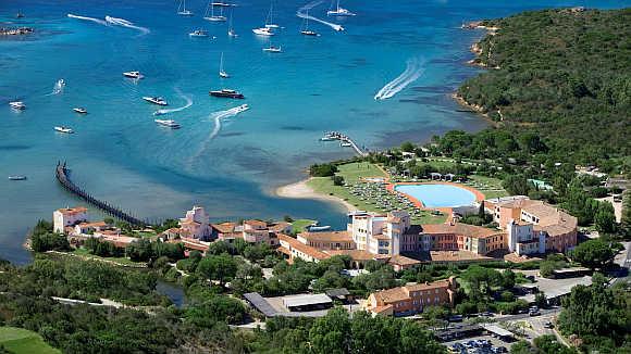 Hotel Cala di Volpe in Sardinia, Italy.