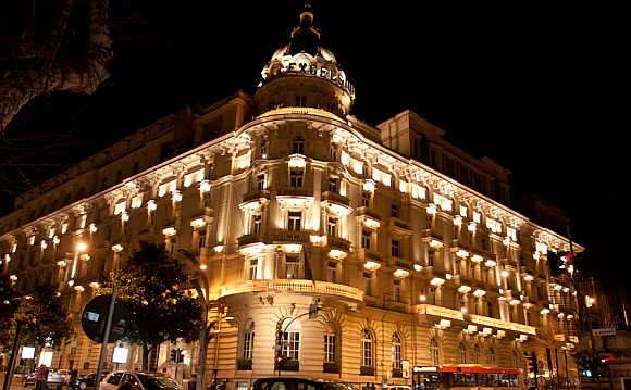 Westin Excelsior in Rome, Italy.