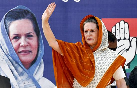 UPA chairperson Sonia Gandhi.