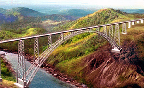 India to open world's highest rail bridge by 2016