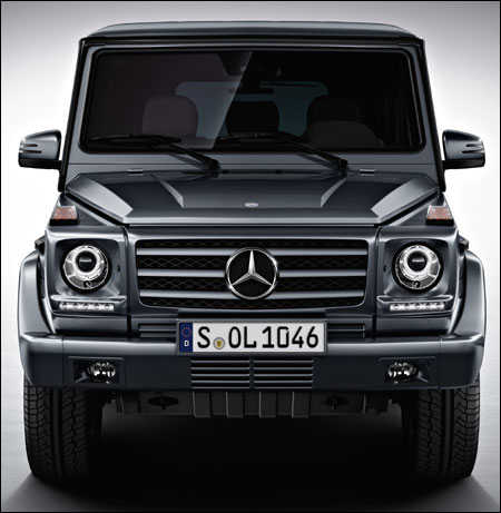 Mercedes-Benz's G63 AMG enters India market.