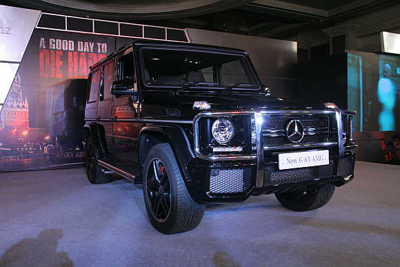 The G-Class retains its shape, rugged design and the same mission to cope with extreme conditions.