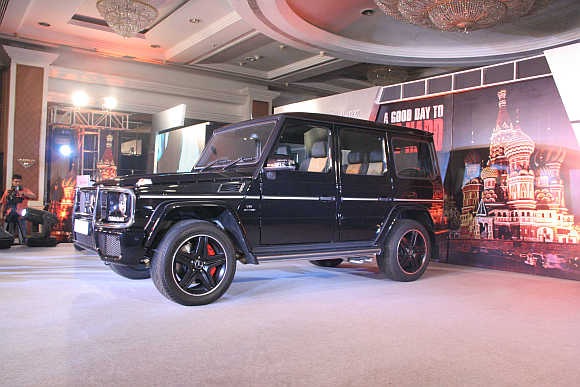 The G63 AMG is available at a price of Rs 14,577,000 ex-showroom Mumbai.
