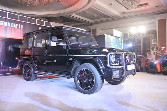 The G-Class's pedigree and classic form has been retained across the 34 years of its existence.