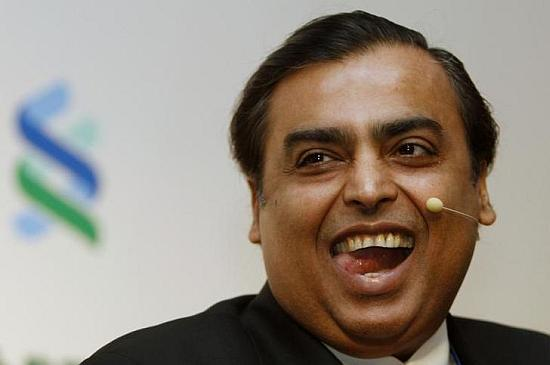 Reliance Industries chairman and MD Mukesh Ambani.