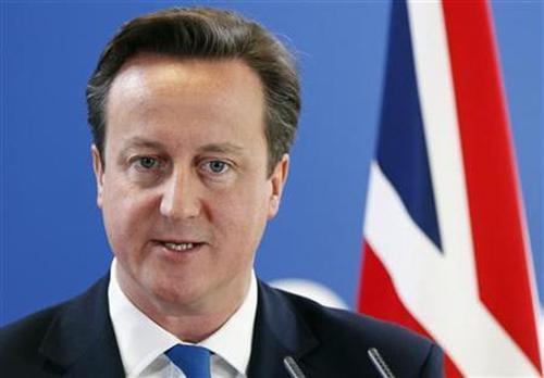 Britain's Prime Minister David Cameron.