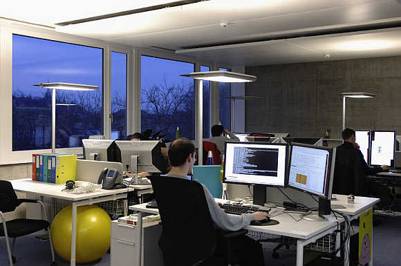Amazing PHOTOS of Google's office in Switzerland