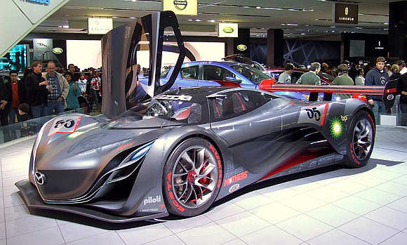 2012 Mazda Furai.