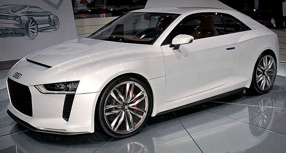 2010 Audi Quattro.