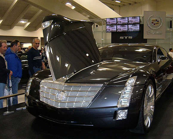 2003 Cadillac Sixteen.