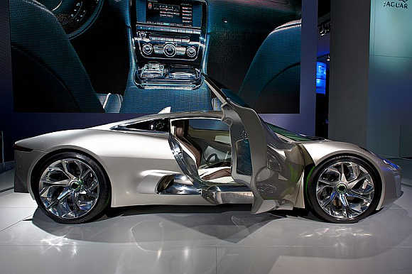 2010 Jaguar C-X75.
