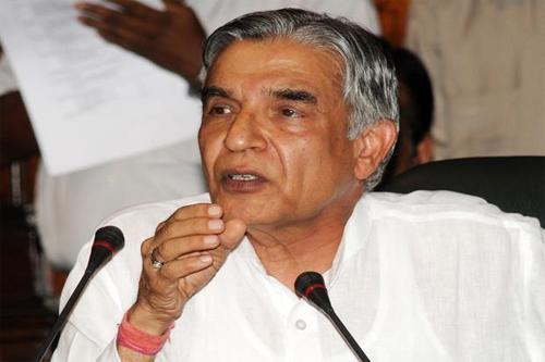 Railway Minister P K Bansal.