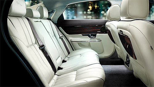 Jaguar XJ Ultimate interior.