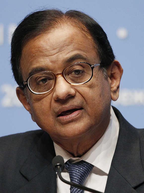 P Chidambaram.