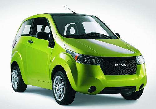 India's first electric car Reva.
