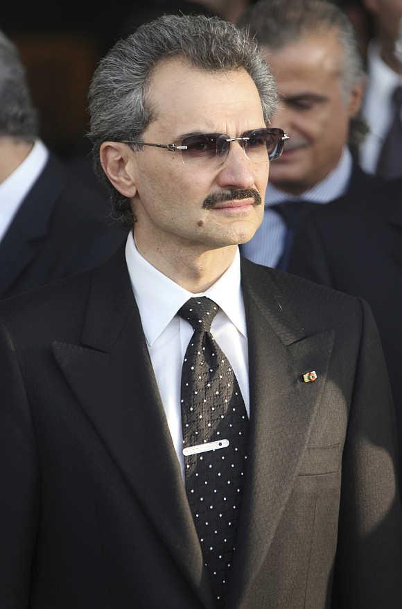 Alwaleed bin Talal in Beirut, Lebanon.