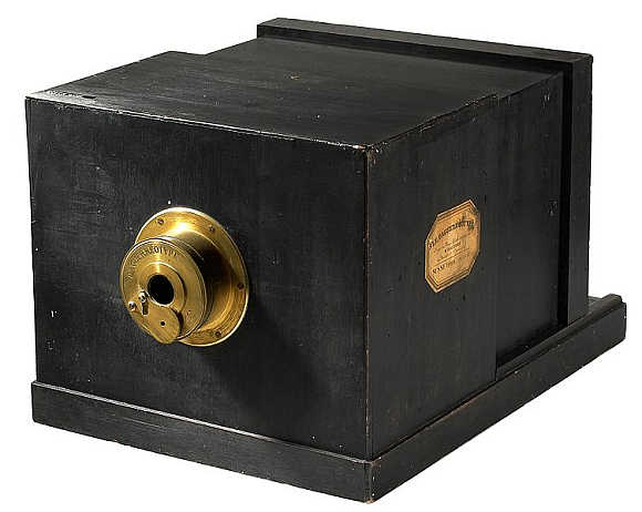 Susse Freres Daguerreotype Camera.