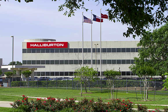 Halliburton's corporate office in Houston, Texas.