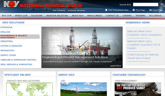 National Oilwell Varco.