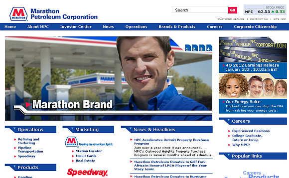 Marathon Petroleum.