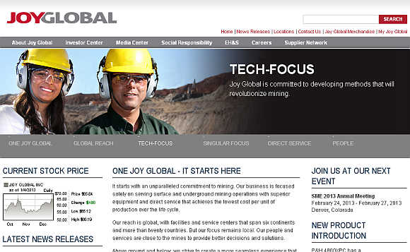 Joy Global.