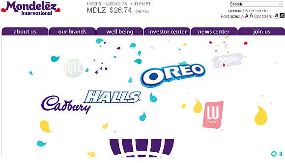 Mondelez International.