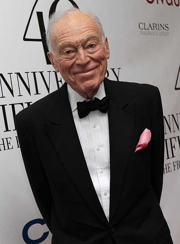 Leonard Lauder, chairman emeritus of Estee Lauder, in New York.