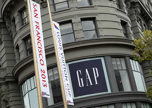 Gap flagship store in San Francisco.