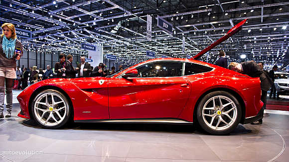 Ferrari F12: Most powerful road-going car