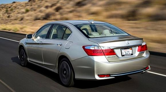 Honda Accord Plug-in Hybrid.