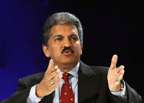 Mahindra & Mahindra chairman and MD Anand Mahindra.
