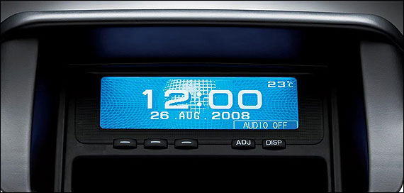 Multi-mode center information display.