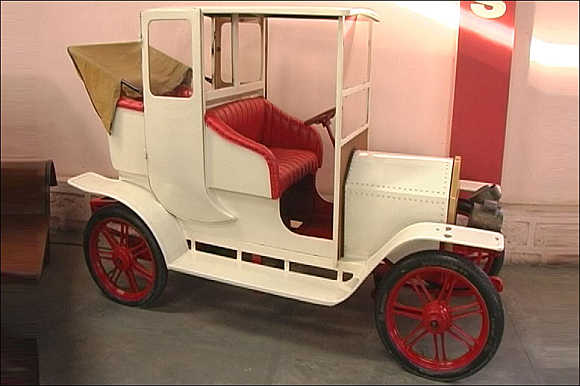 Wacky, hand-made cars in Hyderabad museum