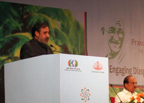 Minister of Commerce & Industry Anand Sharma.