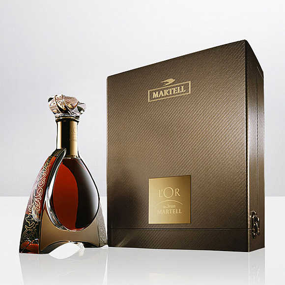L'or De Jean Martell Cognac.